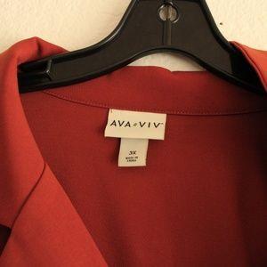 Ava & Viv 3x Plus Size Jumpsuits & Dress Bundle